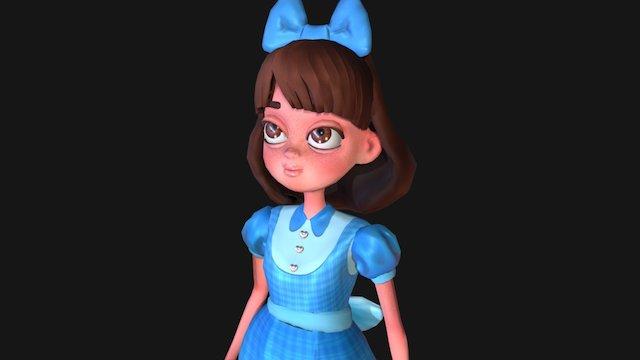 Dorothy Gale 3D Model