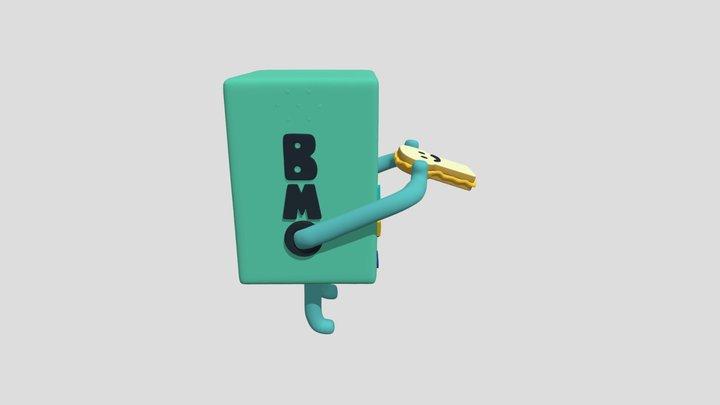 BMO FAN ART 3D Model