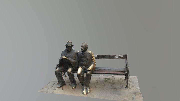 Slaveykov Square 3D Model