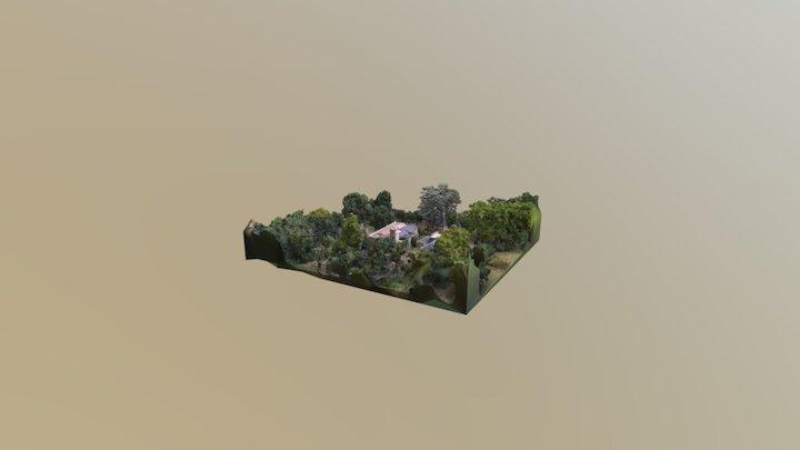 Chateau avant Espagne Detail 3D Model
