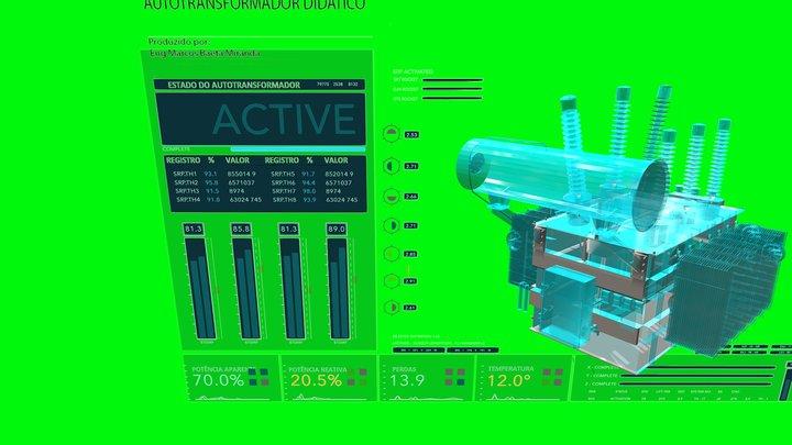 HITECH HUD AUTOTRAFO MBM 3D Model