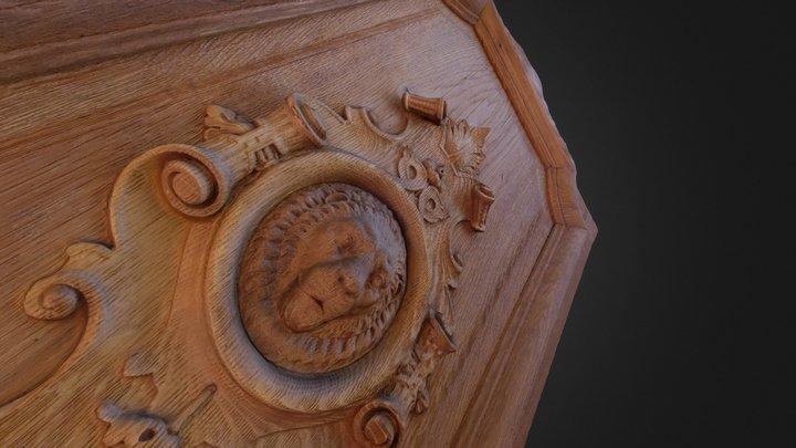 Cathédrale d'Annecy 3D Model