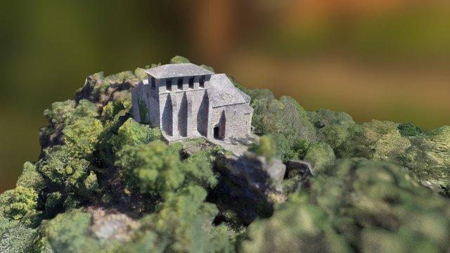 Chapelle des Planques 3D Model