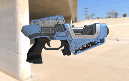 SCI Gun 3D Model