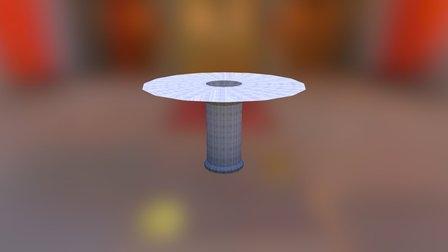 Vaulted ceiling VR 3D Model