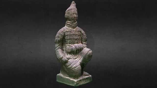 Qin Terracotta Warriors and Horses-HIGH 3D Model