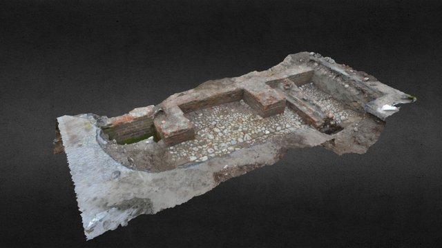 Strandmuren Halmstad 3D Model