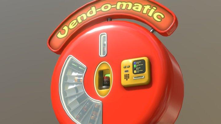 The Vend-o-matic 3D Model