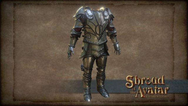 Shroud of the Avatar Male Epic Plate Armor 3D Model