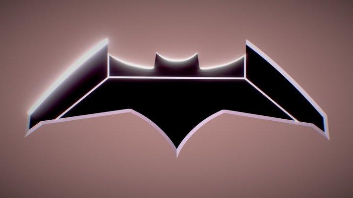 Justice League Batarang 3D Model