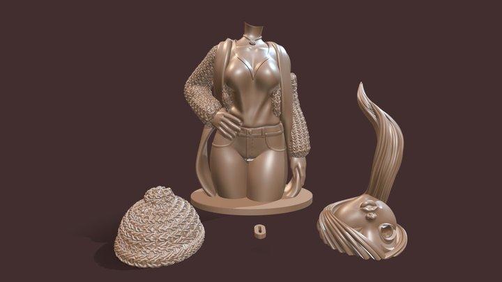 Bree - 3D printable parts 3D Model