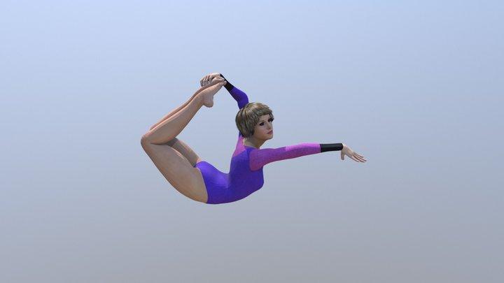 gymnastics 3.0 3D Model