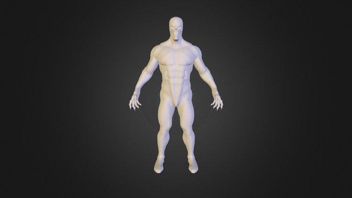 Body F 3D Model