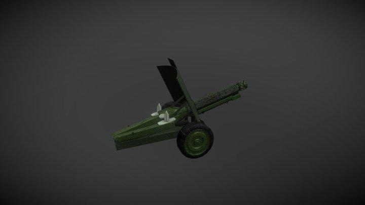 Cannon T20 3D Model