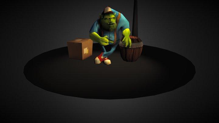 Wharf Goblin 3D Model