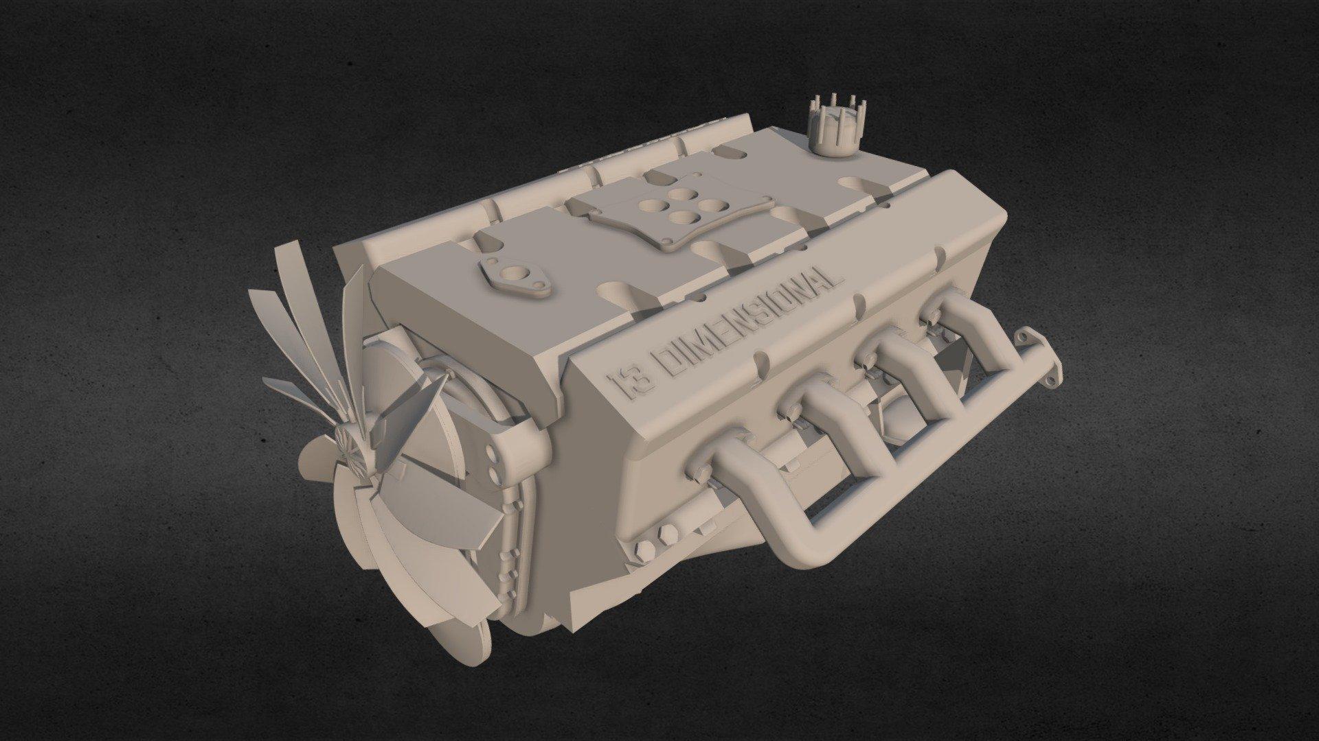 Двигатель 3d девушка модель работы модельное агенство саянск