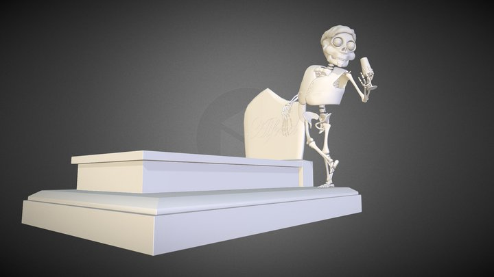 Alfred Tombe 3D Model