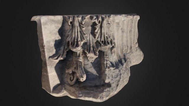 Ephesus Column 3D Model