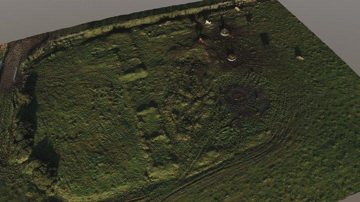 Kinbeachie Castle 3D Model