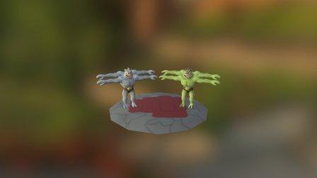 Machamp 3D Model