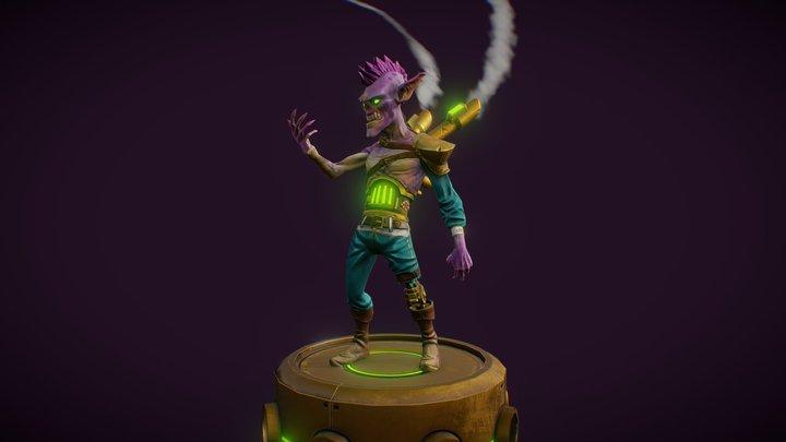 Steam Ghoul 3D Model