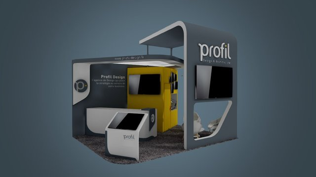 PROFIL_STAND 3D Model