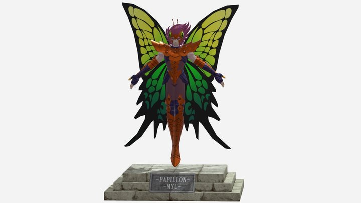 Myu de Papillon 3D Model