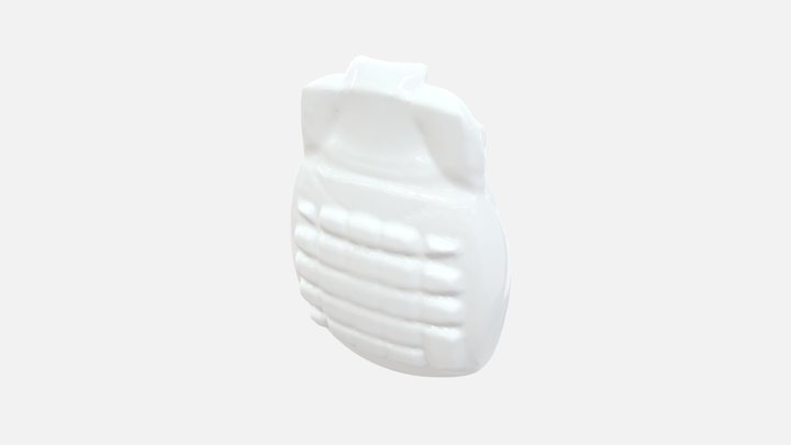 #18_ Pottery Flask & Desk Calculator 3D Model