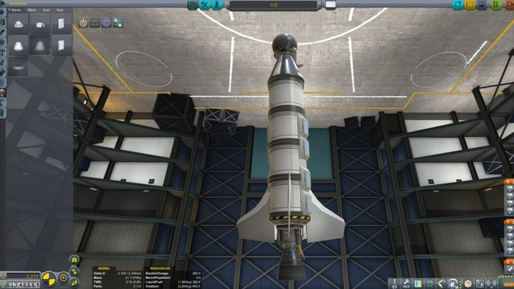 STDR - Suborbital Tourist Dumbfire Rocket 3D Model
