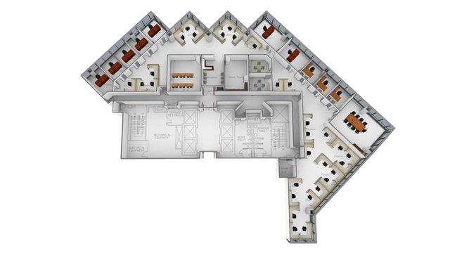 BECO Tower II - Suite 250 3D Model