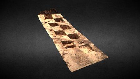 Fouille archéologique à Loropéni (2) 3D Model