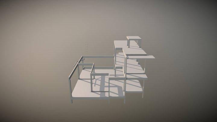 ESTRUTURA COMPLETA 3D Model