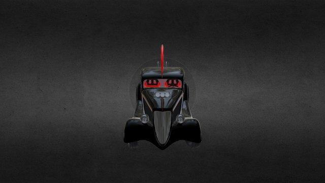 The Bat Rod 3D Model