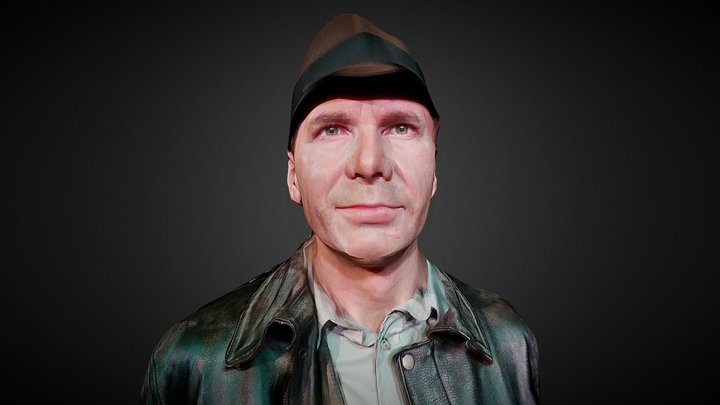 Harrison Ford 3D Model