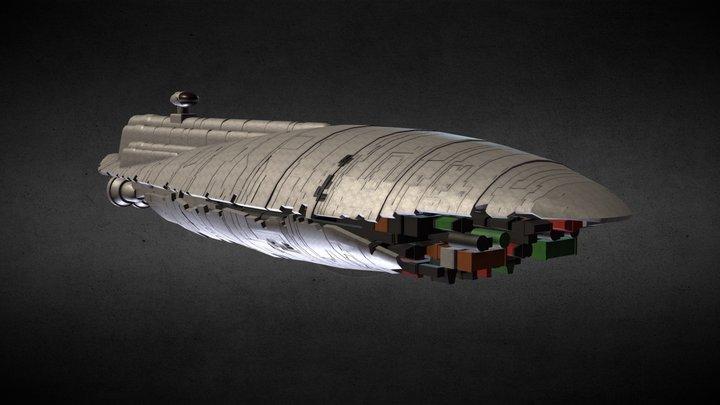 Star Wars: GR-75 Medium Transport 3D Model