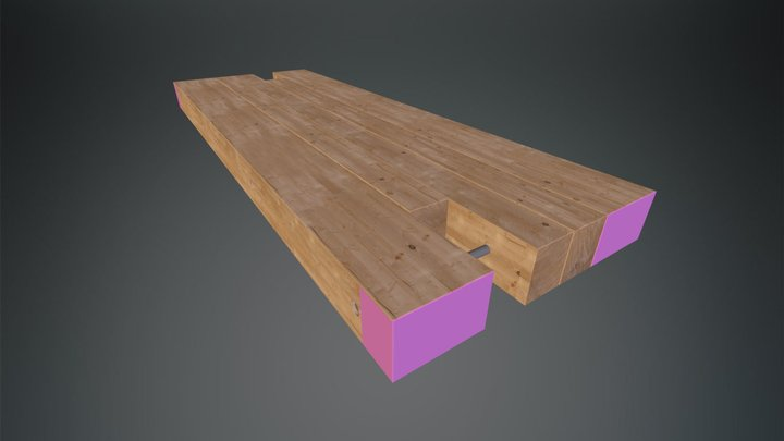 Crane Mat - Quality Mat Company 3D Model