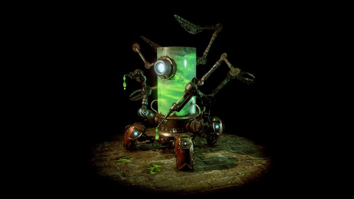 Blightnozzle Crawler 3D Model