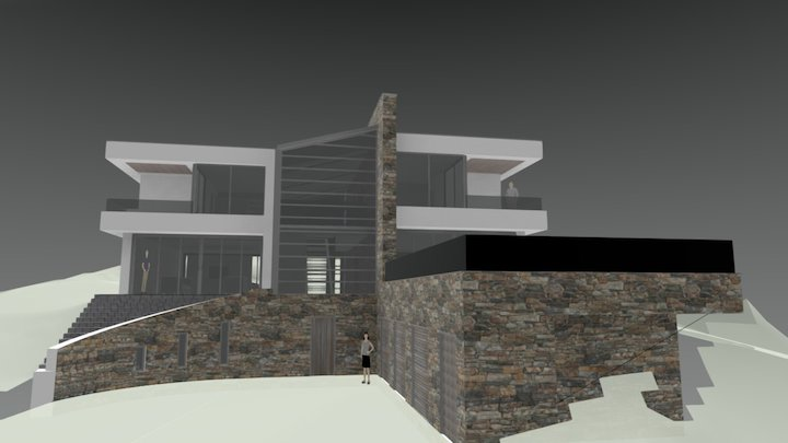Thirk Hill 3D Model