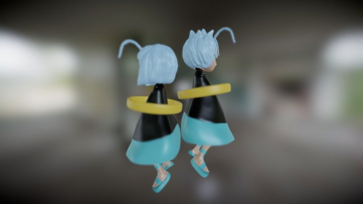 Fairy Tail - Celestial Spirit Gemini (Eclipse) 3D Model