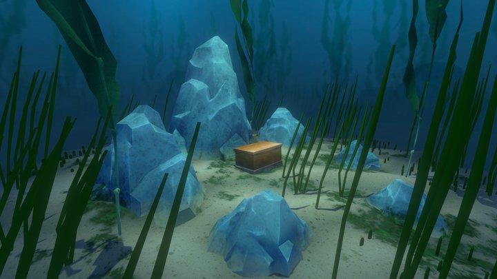 Sea Chest 3D Model