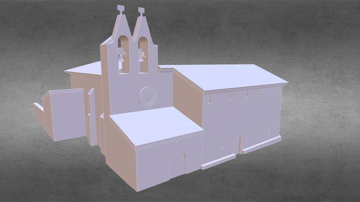 Nuestra Señora de Andelos 3D Model