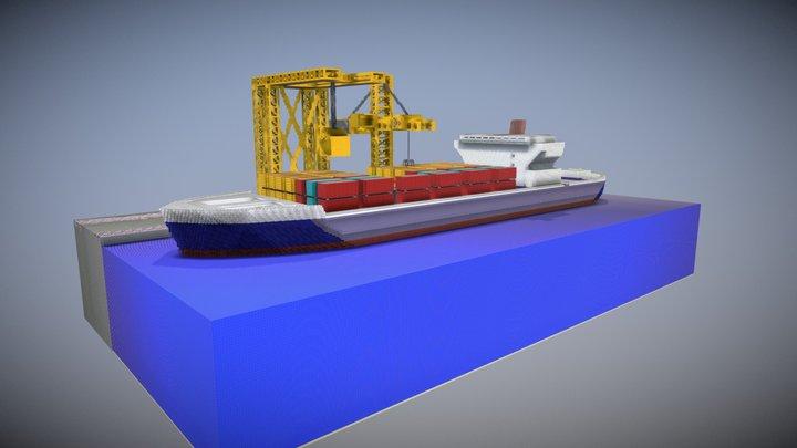 Pangolin Port - Minecraft 3D Model