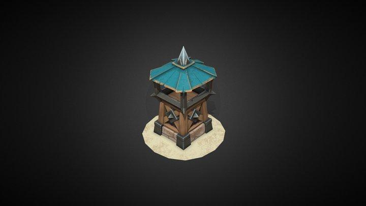 Archer tower 3D Model