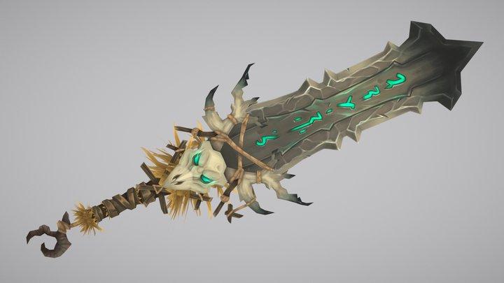 Drustvar sword - World of warcraft weapon 3D Model
