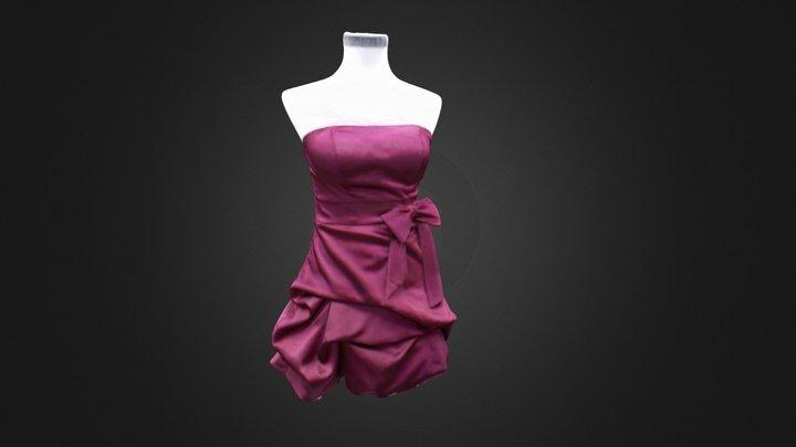 Red Dress 3D Model