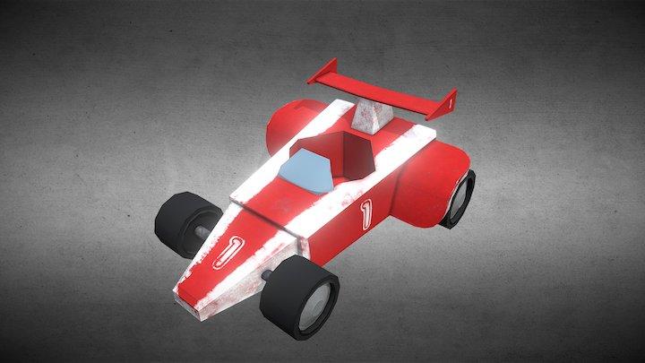 Kart Number 1 3D Model