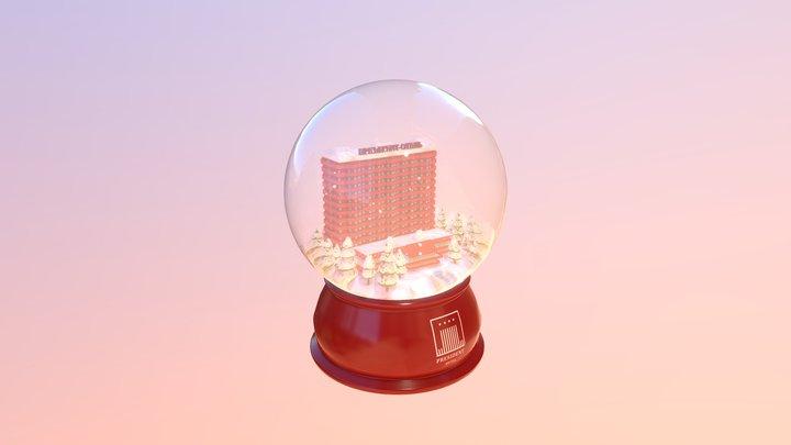 Snowball 3D Model