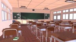 Weeb classroom 2.0 3D Model