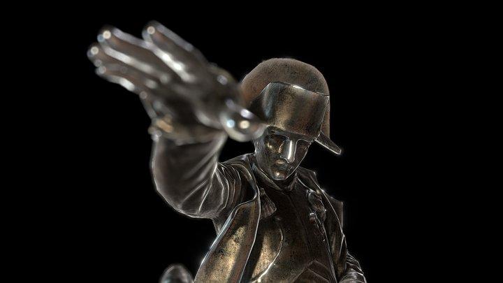 Napoleon in Cherbourg (Mobile Friendly) 3D Model