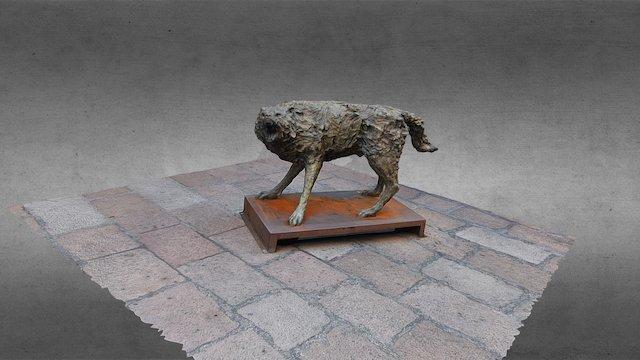 Statue de Loup, Bologne 3D Model